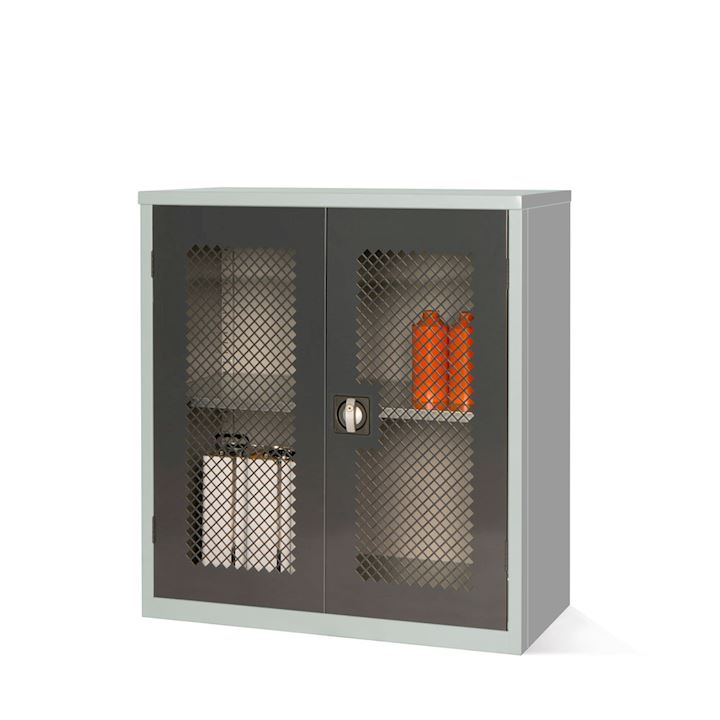 Mesh Fronted Cupboard 1000H