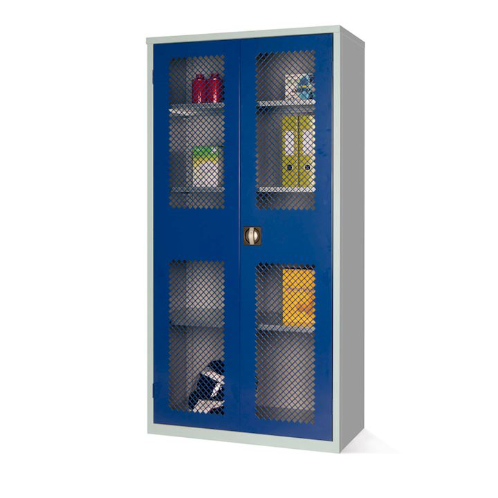 Mesh Fronted Cupboard 1830H