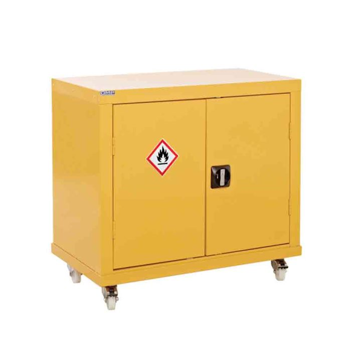 Mobile Cossh Storage Cabinet 840 x 900 x 460 | Coshh Storage - 3d Lockers