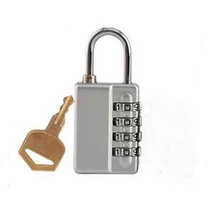 Combination Padlock with Masterkey Reset - 4 scroll