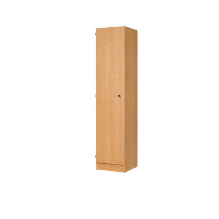 Single Door MDF Laminate Wooden Locker 1800H