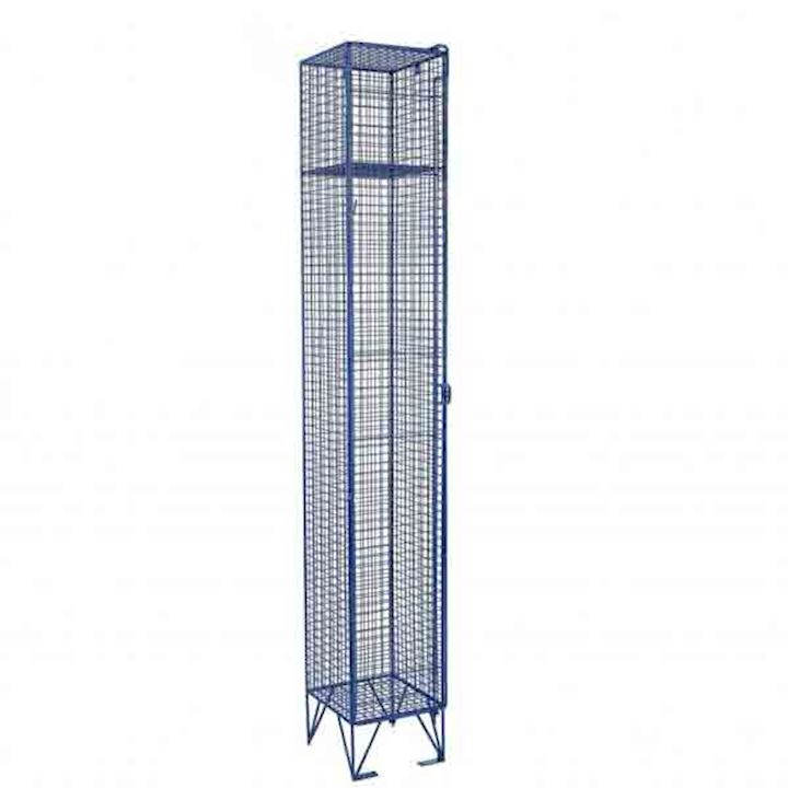 Wire Mesh Single Door Locker