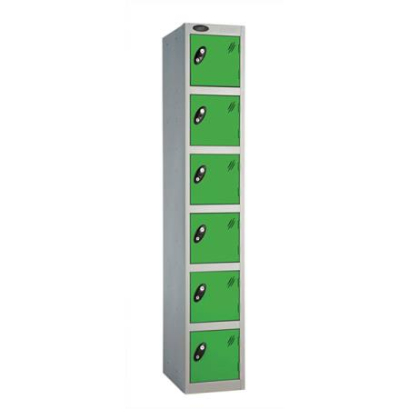 Metal Lockers Six Door