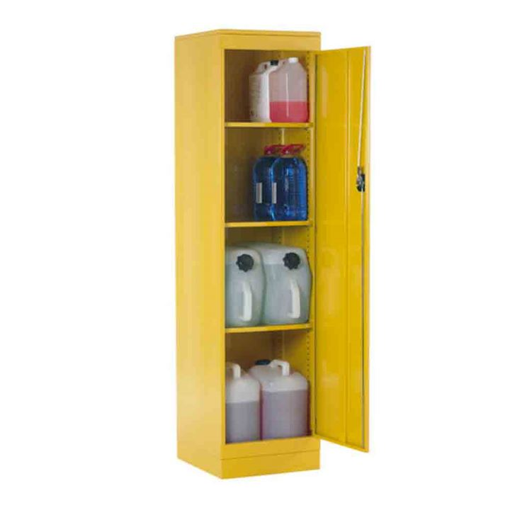 Slim Hazardous Coshh Cupboard 1905 x 477 x 505