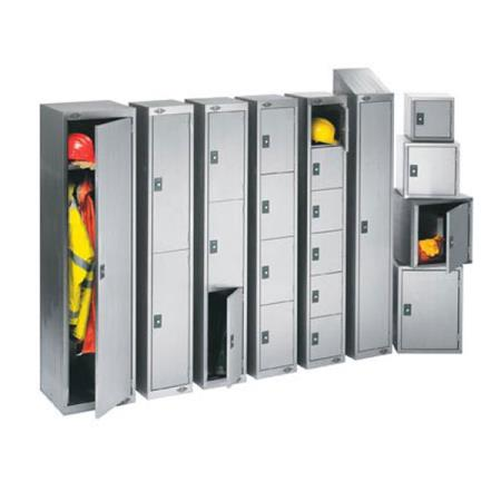 Stainless Steel Single Door Locker