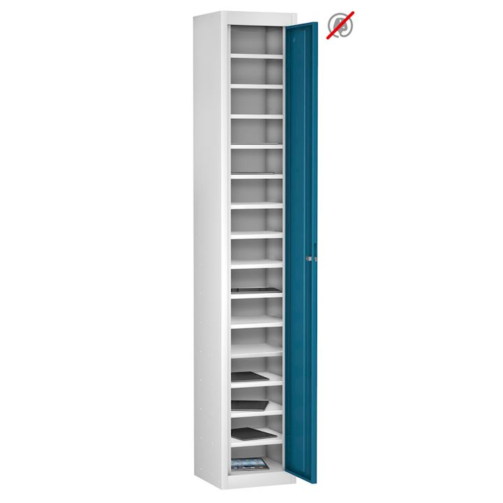 Tab Box Single Door, 15 Comp Tablet Locker 1780mm