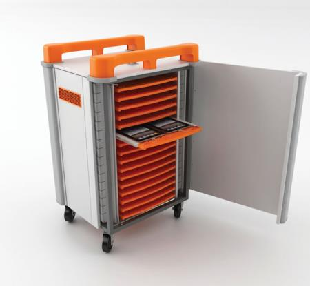 TabCabby 32H Tablet Charge & Sync Trolley
