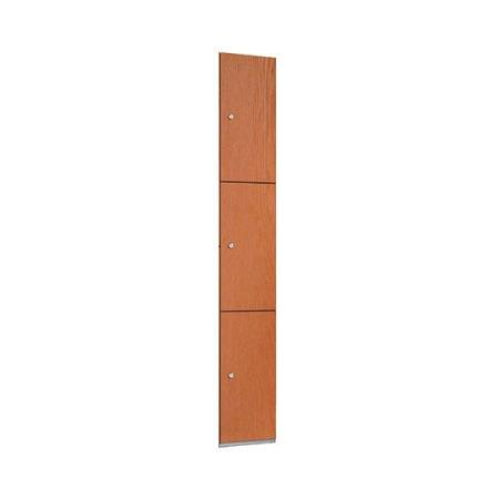 Wooden lockers laminate lockers 3d lockers for Wood lockers with doors