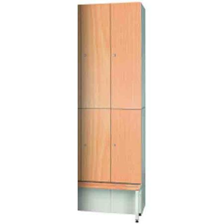 Timber Effect Golf Top Locker 1300mm