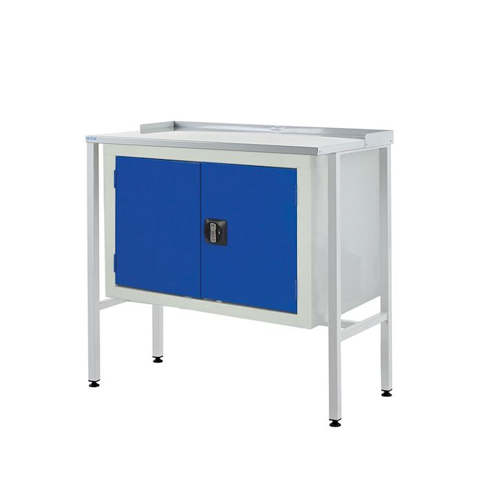 Information Team Leader Station + Double Cupboard - Flat top 920H