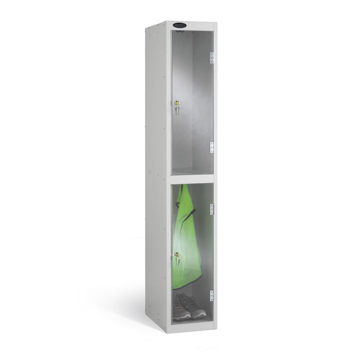 Full Clear Two Door Locker 1780H
