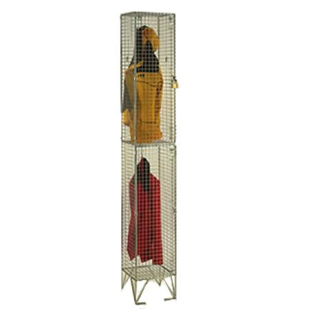 Wire Mesh Two Door Locker