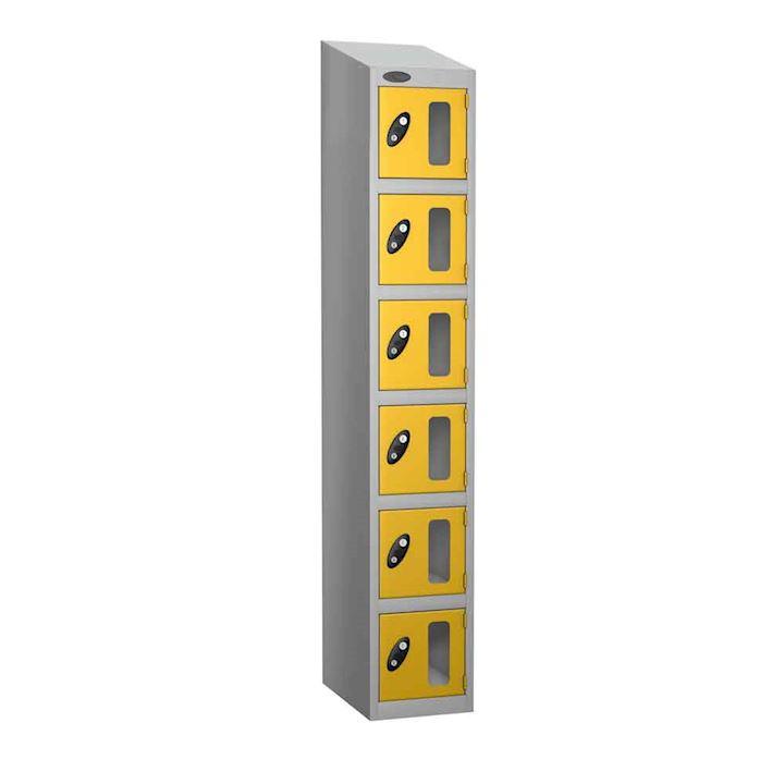 Vision Panel 6 Door Locker 1780H