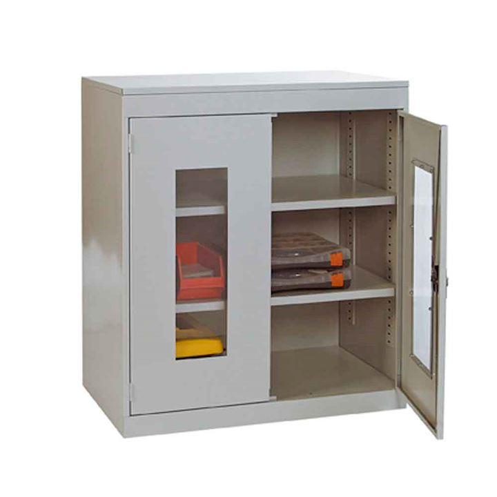 Clear Door Cabinet 900H x 900w