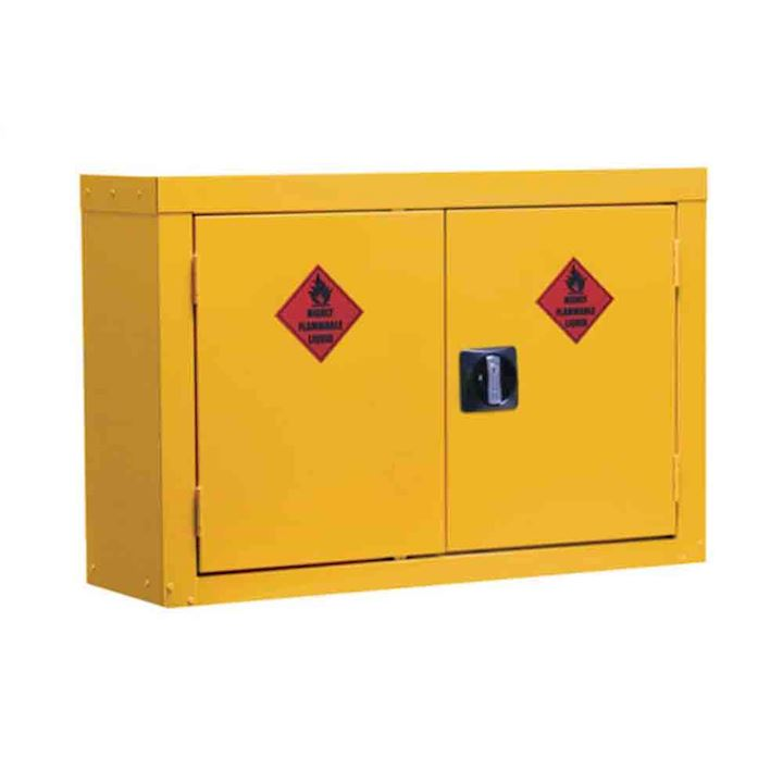 Wall Mounted Hazardous Coshh Cupboard 570 x 850 x 255