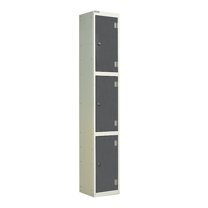 Laminate Wet Area Three Door Locker