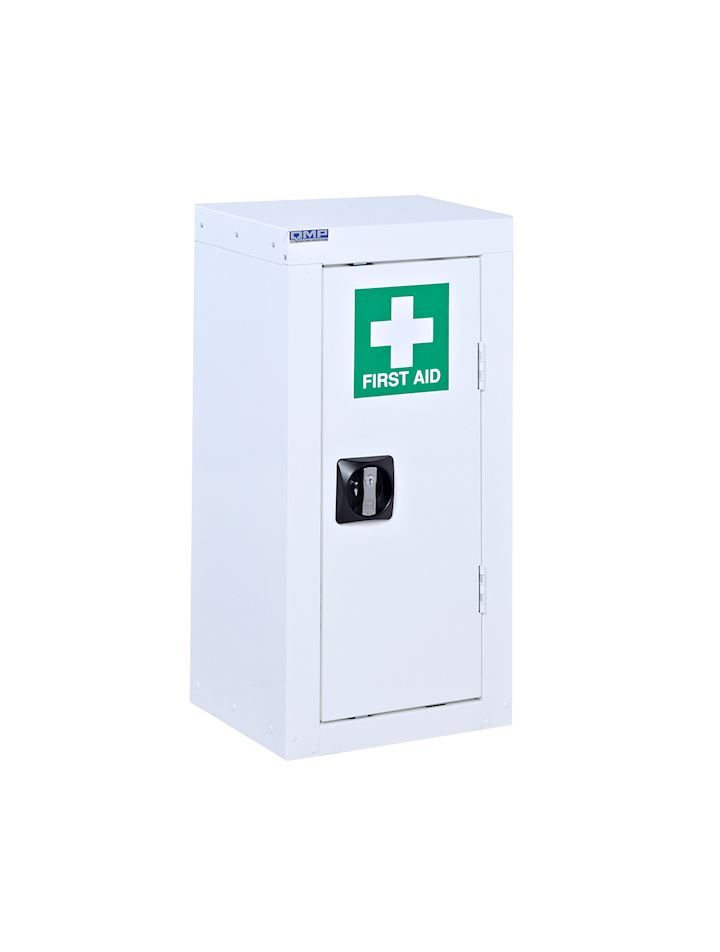 White First Aid Cabinet 1 door 700 x 350 x 300
