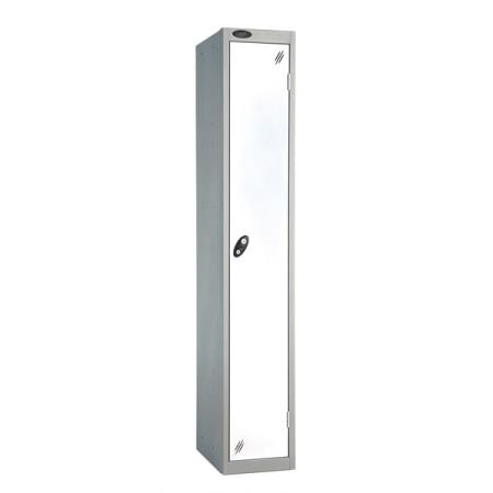 White Locker Single Door