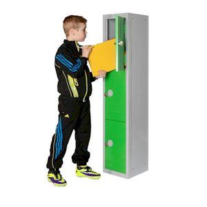 1370H Primary School Locker 3 Door