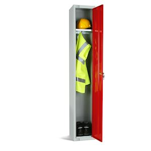 Single Door Staff Locker 1800mm high