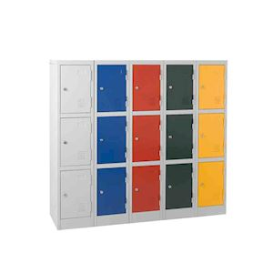 Quick Delivery 1372mm high KS2 3 door locker